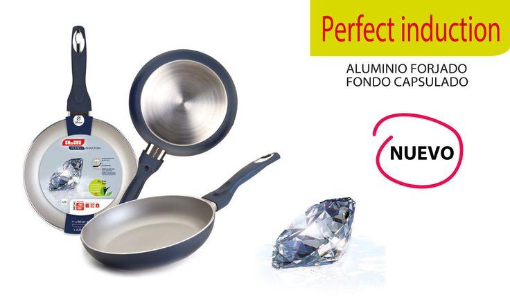 La sartén perfecta para inducción es de #Ibili  Perfect Induction Fry pan