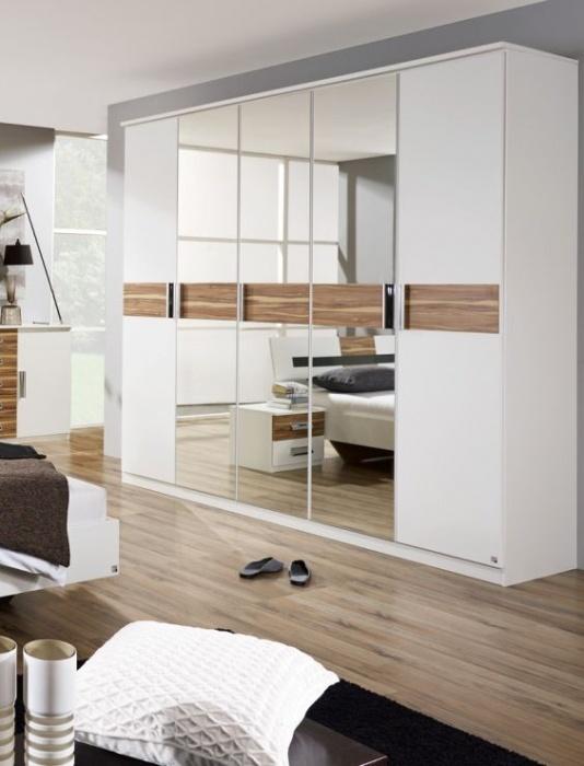 Luxury BELLISSA Dreht renschrank in wei oder grau lieferbar kleiderschrank dressing schlafzimmer kleider