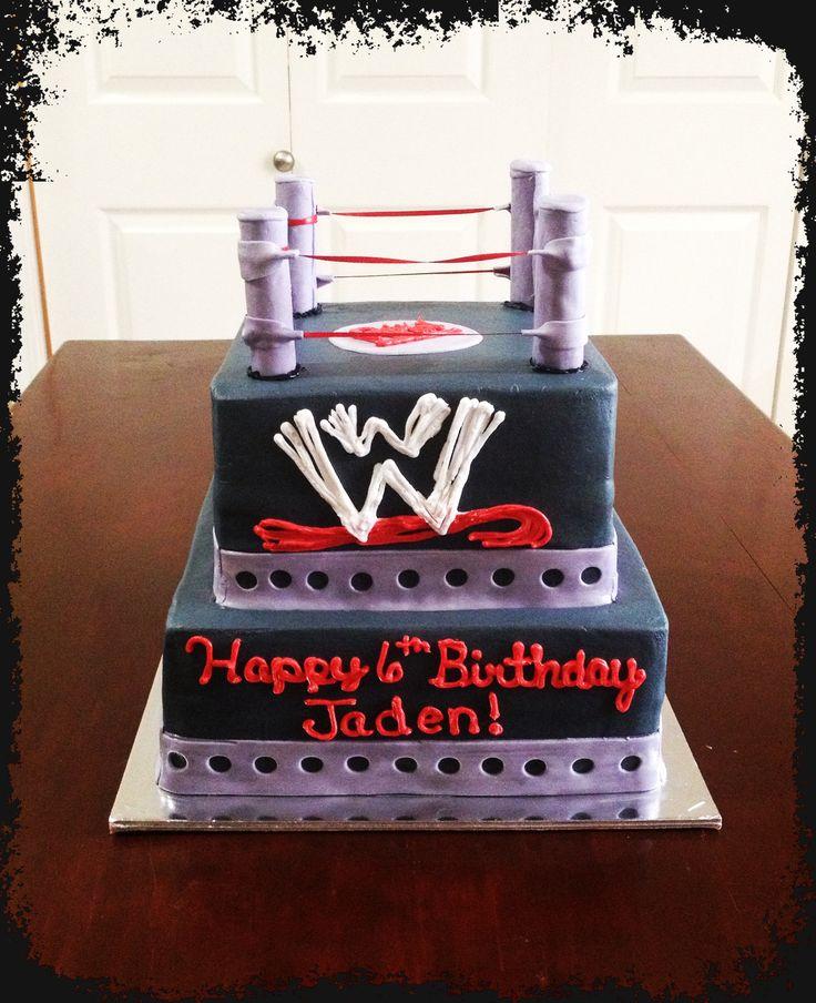 Cake Decoration Alexandria : 25+ best ideas about Wrestling birthday cakes on Pinterest ...