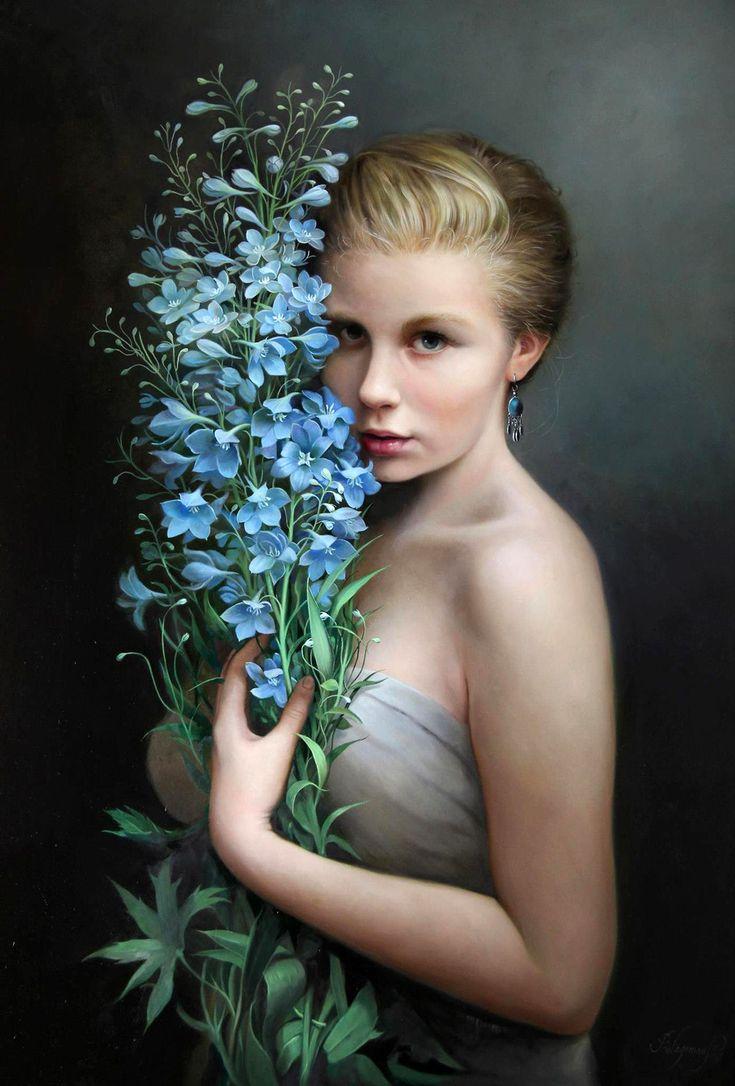 основном художественный фотопортрет женский садах