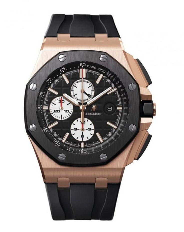Audemars Piguet 26401RO.OO.A002CA.01 Royal Oak Offshore Chronograph. #audemarspiguet - черные - швейцарские мужские наручные часы