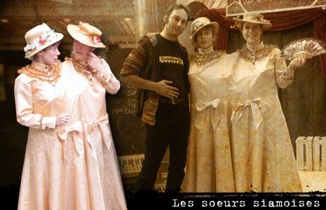 Les soeurs siamoises, Marie-Rose et Rosemary