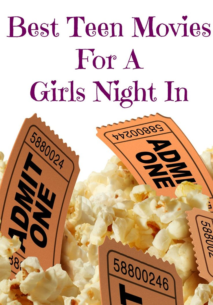 Planning a quiet night in for you and your closest friends? Maybe a sleepover?  Check out our picks for the best teen movies for a girl's night in!