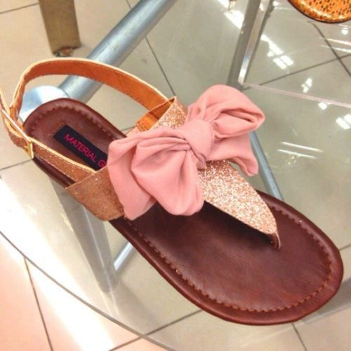 Bow sandals!!!!!!!!!!!