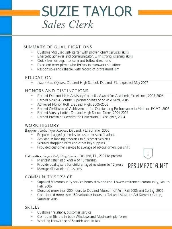 Resume Template For Teens Stylish 10 Resume Taglines Of 34 Stylish