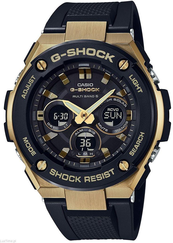 Zegarek Męski Casio G-shock Quartz World Time GSTW300G-1A9 GST-W300G-1A9ER