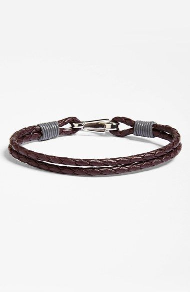 Free shipping and returns on Ted Baker London 'Trapezz' Leather Bracelet at Nordstrom.com. Braided leather adds a tinge of earthy appeal to a handsome bracelet with versatile style.
