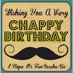 Happy Chappy Birthday Card | Paper Products Online