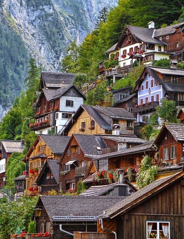 Hallstatt Village, Gmunden Austria