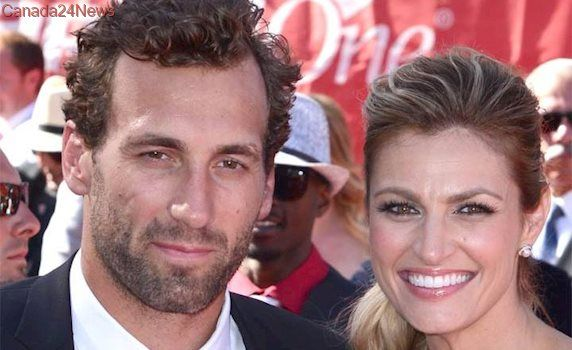 Sportscaster Erin Andrews, former NHL player Jarret Stoll marry in Montana