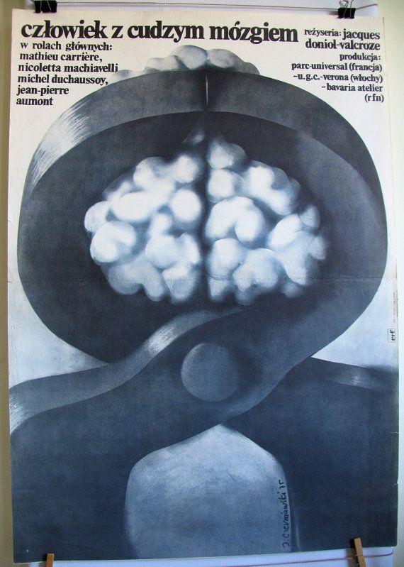 L'homme au cerveau greffé oryginal title  French by artwardrobe, $10.49