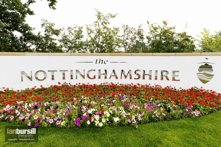 The Nottinghamshire entrance