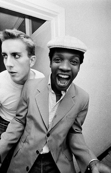 Terry Hall and Lynval Golding of The Specials, 1981. Photograph: Adrian Boot.