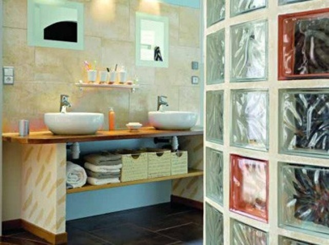autre ide de meuble de salle de bain faire soi mme - Faire Une Salle De Bain