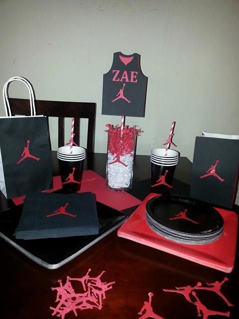 114 Best Jordan 23 Theme Party Images On Pinterest