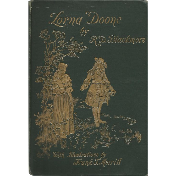 Antique Book: Lorna Doone by R.D. Blackmore 1893 from tunes-texts-and-trinkets on Ruby Lane