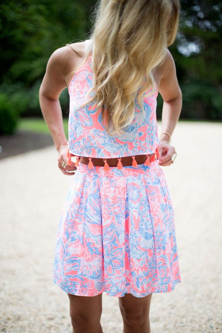 Via @stylecusp in the Lilly Pulitzer Selina Set
