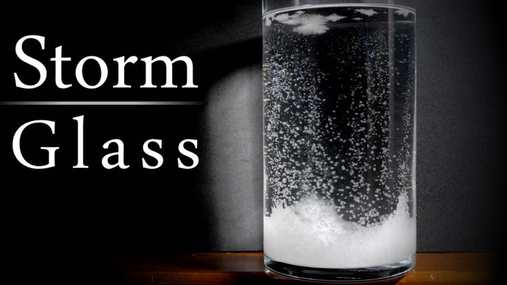 How to make a storm glass to predict the weather. The Storm Glass was first invented in the mid 1700's, and soon made it's way into ships and harb...