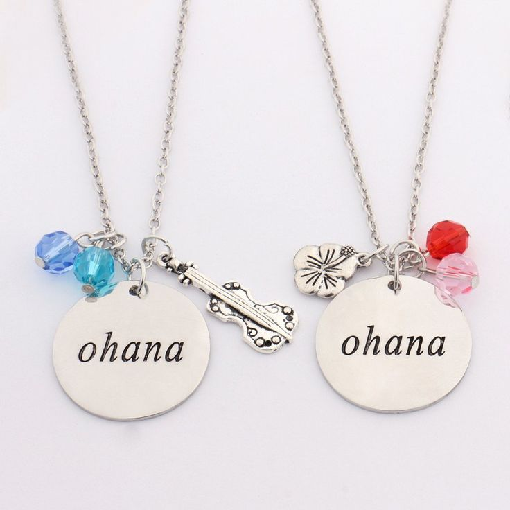 Lilo & Stitch Friendship Necklace Set