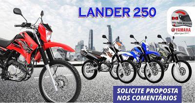 HILTON MOTOS: Yamaha Lander 250 2017. Confiabilidade e Robustez....