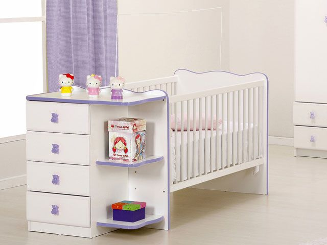 Para o seu bebê dormir num quarto lindinho :)
