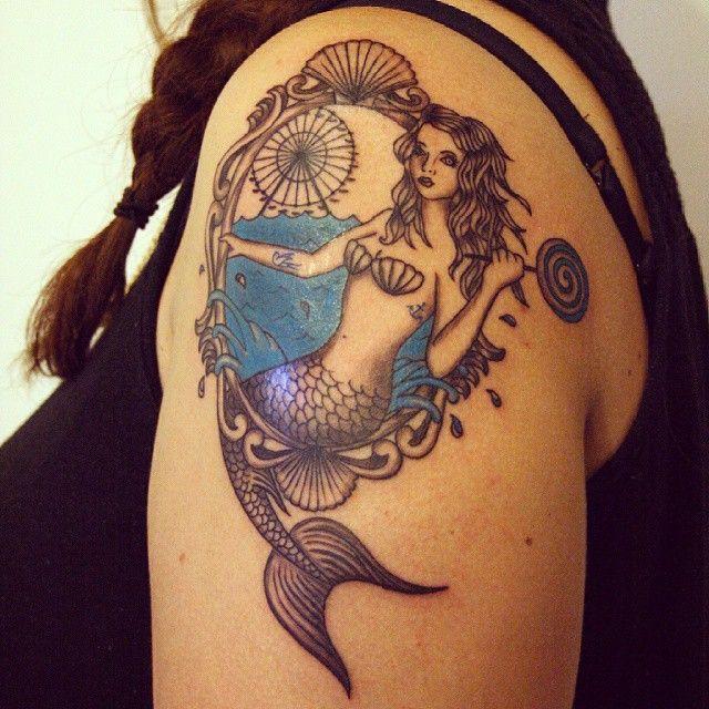 150+ Seductive Mermaid Tattoos And Their Meanings nice