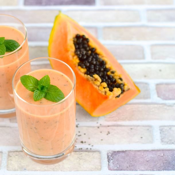 Smoothie papaye-banane