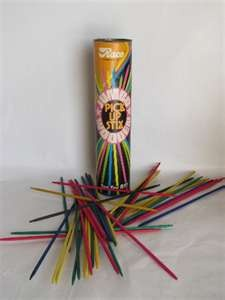 Pick Up Sticks. A game so awesome its still around today! Im pinning it to the 80s as thats when I mostly remember playing it but Im sure its been around for decades prior to that!