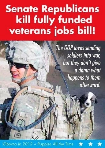 So much for supporting our troops Republicants