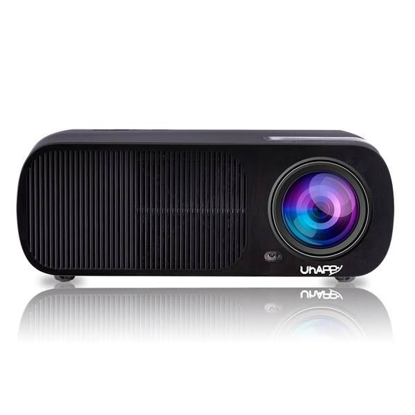 UHAPPY U20 PRO Portable LCD 2600LM Andriod 4.4 WIFI Wireless 1080P HD 2000LM LED Projector
