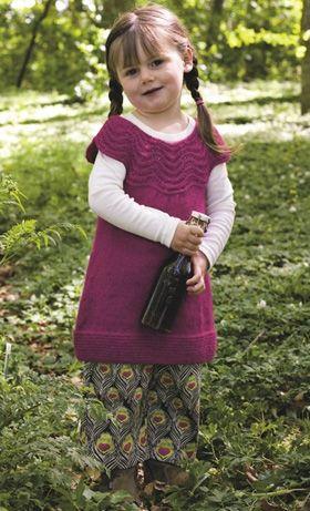 Strik en pigetunika   Familie Journal
