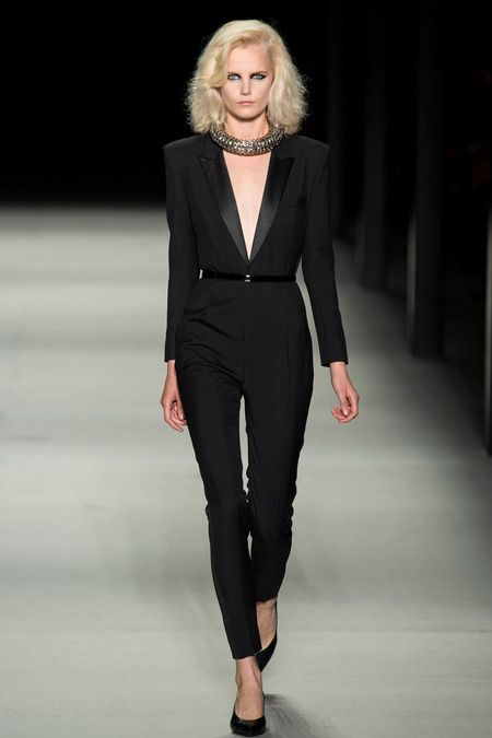 Saint Laurent Spring 2014 Ready-to-Wear Collection Slideshow on Style.com