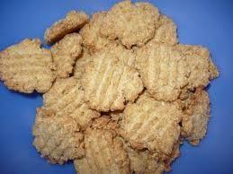 Zdravé ľanovo kokosové  sušienky