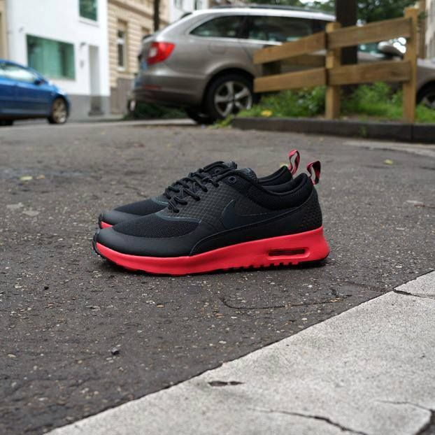 nike air max thea wmns blackfusion red | Sneakers | Pinterest | Runs nike, Air max 90 and Shoes