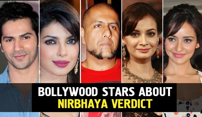 bollywood stars speak up about the nirbhaya verdict, bollywood stars about nirbhaya verdict, mangobollywood, bollywood latest news, taapsee pannu, rishi kapoor, raveena tandon, ram singh, varun dhawan, b towns celebs on nirbhaya verdict, delhi gang rape case, nirbhaya rape case, nirbhaya supreme court, bollywood hails supreme court verdict on nirbhaya rape case, bollywood reacts on nirbhaya verdict
