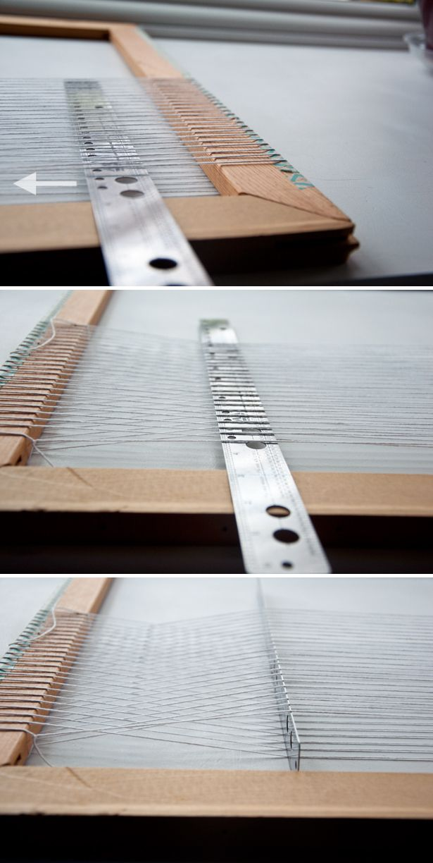 Detailed How To Warp a Frame Loom & Use a Shed Stick | The Weaving Loom #weaving #tutorial