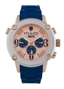 Mulco MW2-28049-043 Stainless Steel Chronograph MWATCH blue band Watch