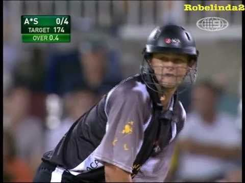 Adam Gilchrist smashes Australia - not fake! Awesome viewing - YouTube