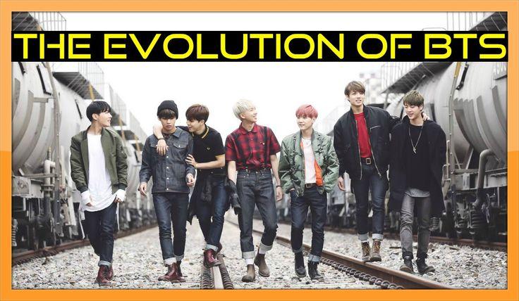 The Evolution of BTS (방탄소년단) - Tribute