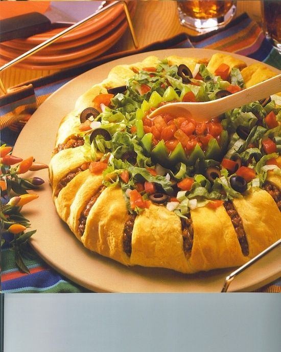 Taco Ring  For All your Pampered Chef needs visit my web site at  www.  pampered chef.biz/nancysime