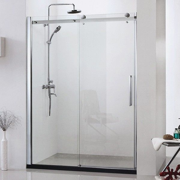 17 best ideas about porte de douche coulissante on for Porte coulissante 240 cm hauteur