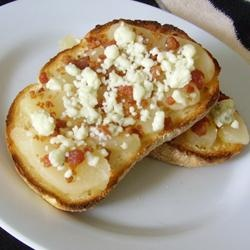 Blue Cheese, Bacon and Pear Brunch Sandwiches   Craft this classy ...
