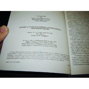Ilokano New Testament with Psalms / Ti Naimbag A Damag Biblia ken Dagiti Salmo / Ilokano Popular Version New IPV 360 / Philippines   $25.99