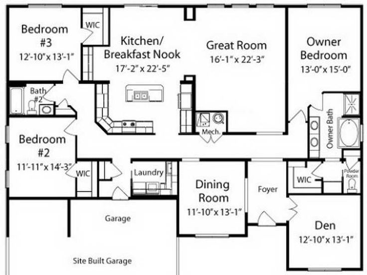House Plans Ranch ~ Http://modtopiastudio.com/awesome Ranch