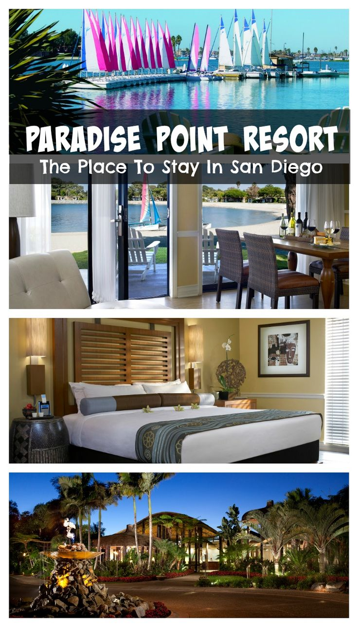 paradise point resort the place to stay in san diego - San Diego Luxury Hotels And Resorts
