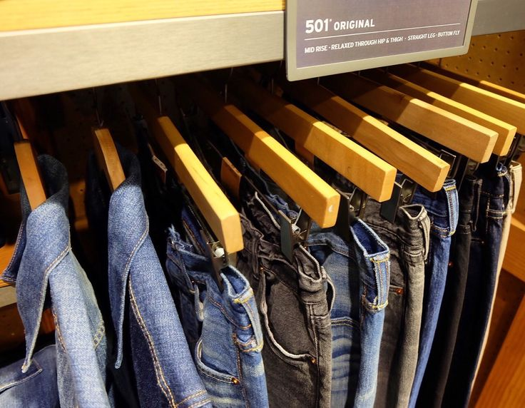 Mix and match your own style only at Levi's TSM GF Floor
