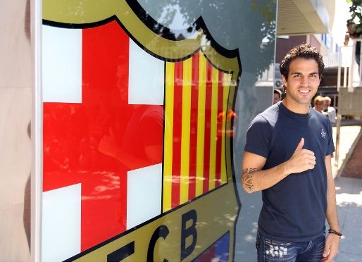 Thank you Arsenal for Fabregas! He's an awesome player can't wait to see what he has to offer his hometeam!!