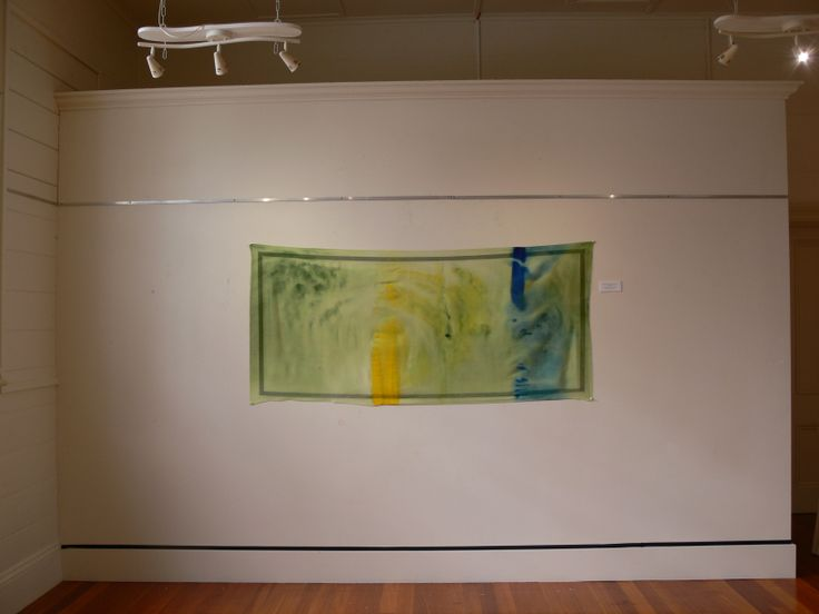 'Yellow and Blue makes Green', Dancing with the Conventions of Painting, Exhibition by Lisa Corston-Buddle, June 2013