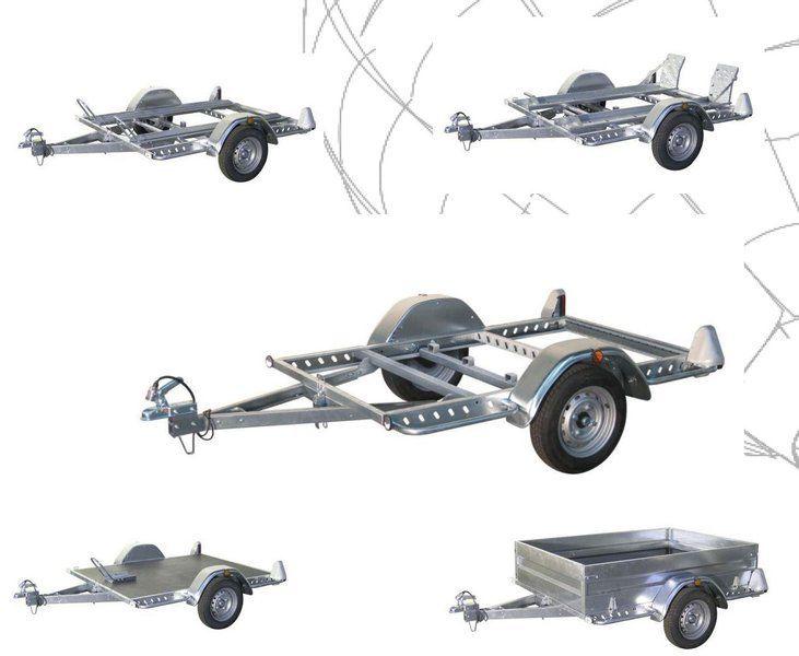 Plataforma multifuncional 2.0x1.4m. Porta motos, porta quads, transporte de carga. Multifunción.
