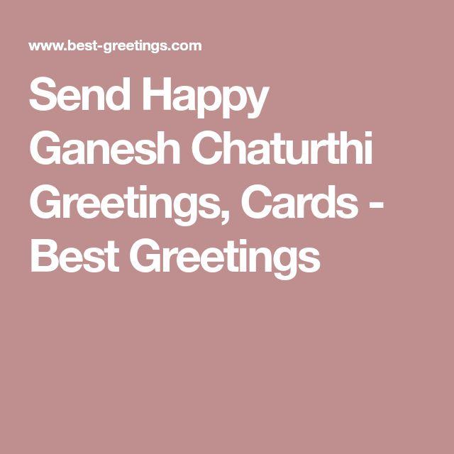 Send Happy Ganesh Chaturthi Greetings, Cards - Best Greetings